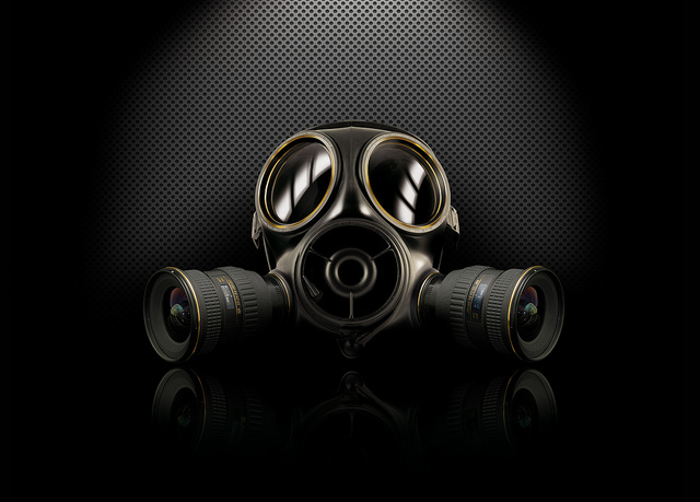 In some homes wearing a gas mask wouldn't be such a bad idea..