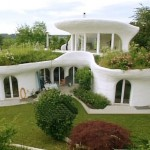 a Hobbit-style earthship