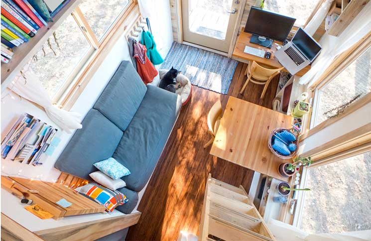 The top 5 most beautiful tiny houses on wheels critical for Beautiful small houses interior