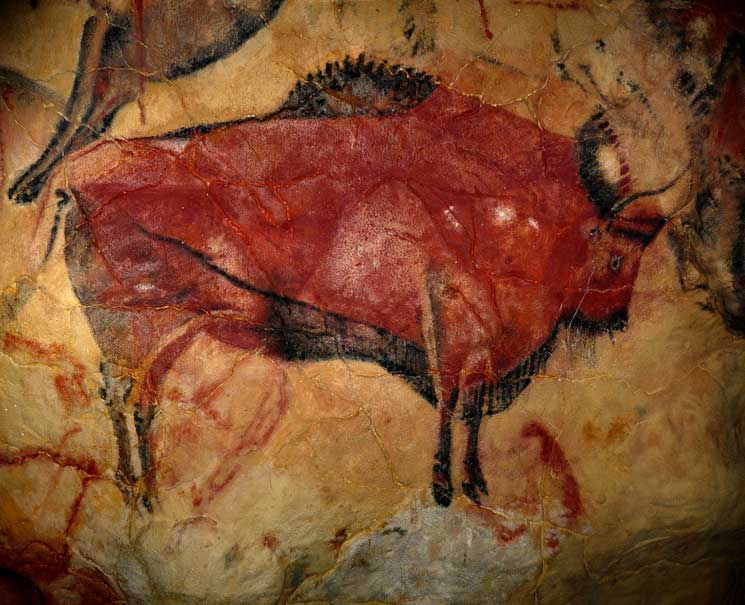 Lascaux cave paintings, early form of 'graffiti'