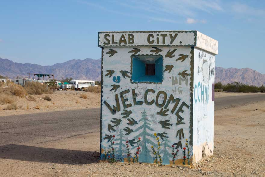 Slab City a rural off-grid 'society' in California