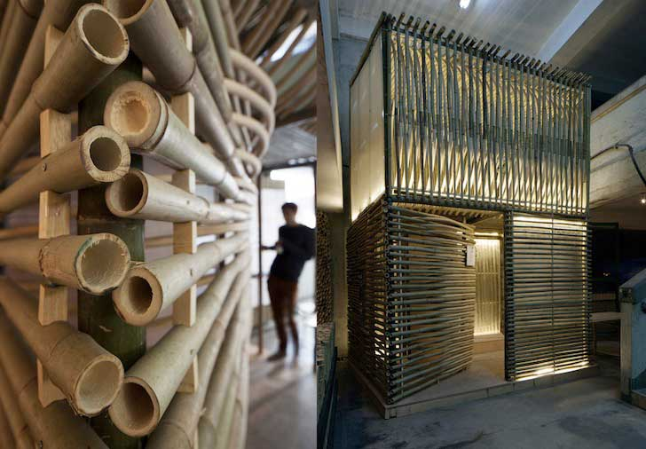 in reaction on the critical housing crisis, AFFECT-T designed Bamboo Micro-housing