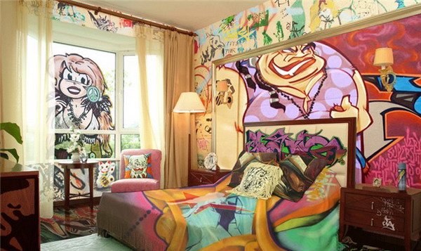 graffiti-Bedroom-Idea