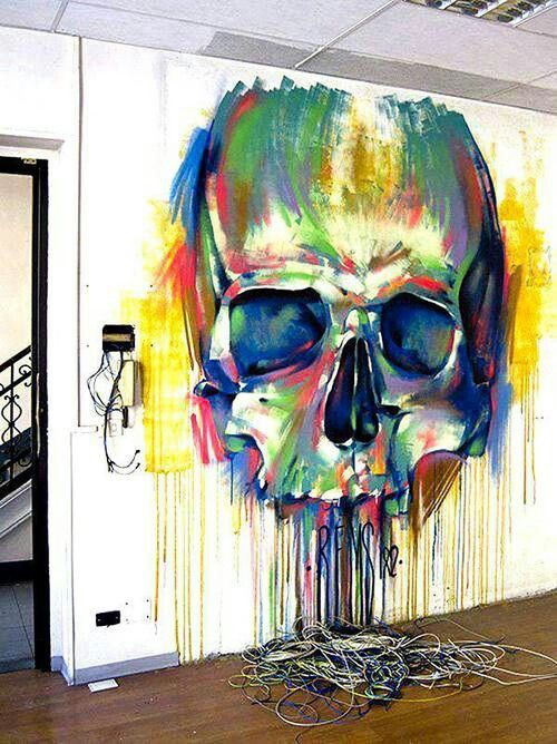 grafitti large scale wall art & 16 Cool Graffiti Wall Mural Ideas - Critical Cactus