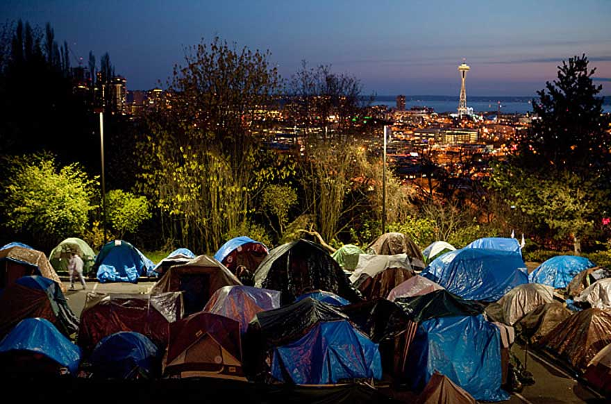 tent city Seattle