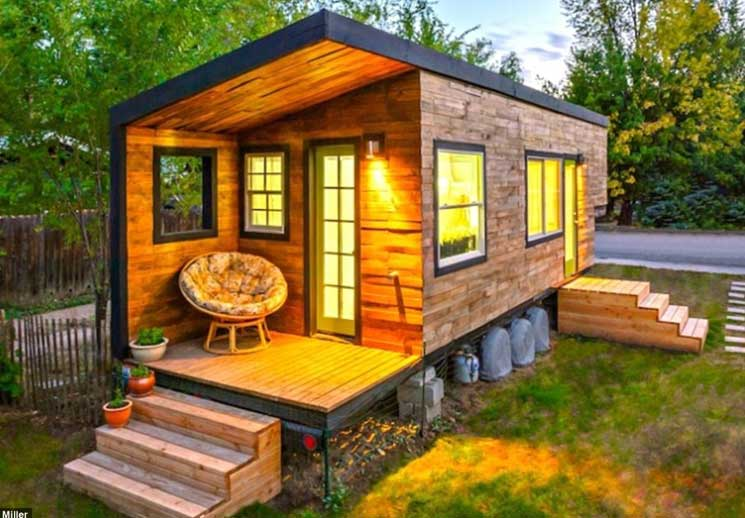 tiny home idaho - Mini Houses On Wheels