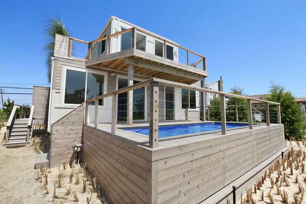 Beach Box Shipping Container House Hamptons
