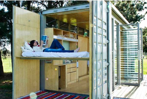 Port-A-Bach-Shipping-Container-Home-interior