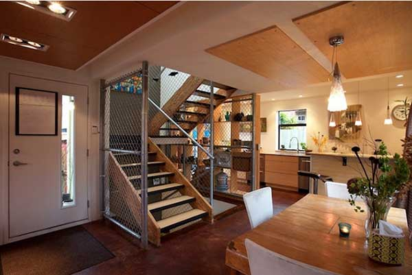 Zigloo-Domestique-Shipping-Container-Home-in-Canada-interior