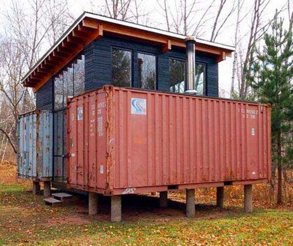 40 Feet Container Homes: 19 Cool Shipping Container Homes