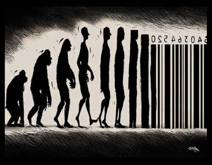 human-evolution-to-consumption-slave
