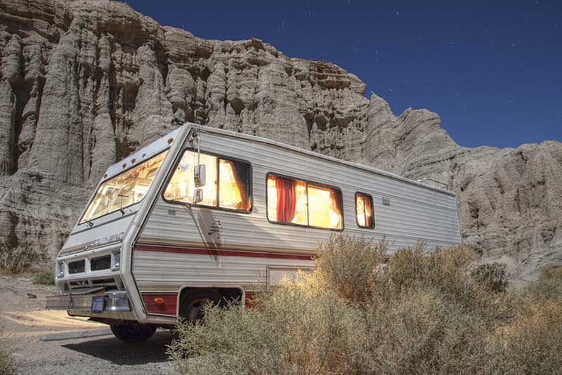 No, this is not the Breaking Bad RV
