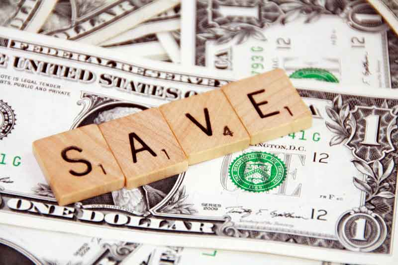save money to make money