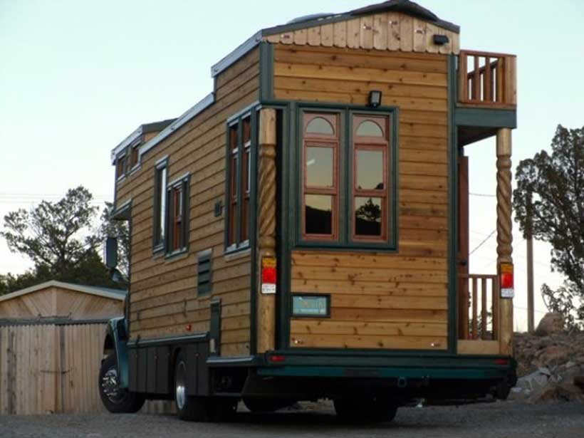 16 types of tiny mobile homes which nomadic living space for Modular living space
