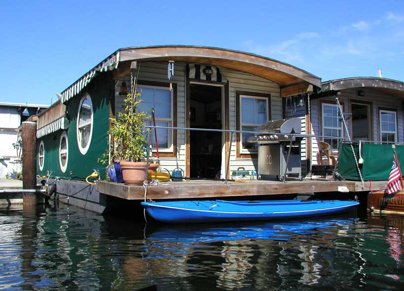 Lake-Union-houseboat