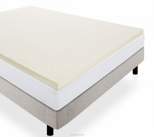LUCID-2-Inch-Ventilated-Memory-Foam-Mattress-Topper---Short-Queen---RV-Queen