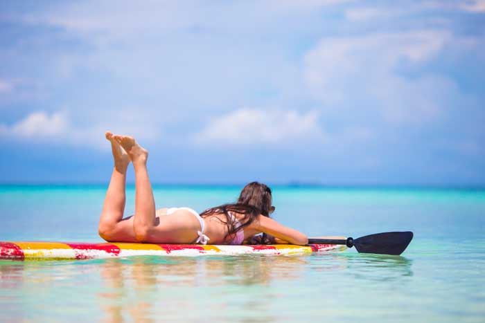 stand up paddle boarding can be extremely relaxing