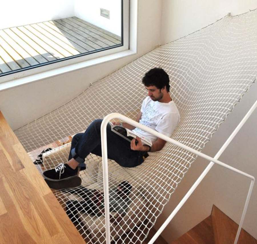 indoor hammock floor
